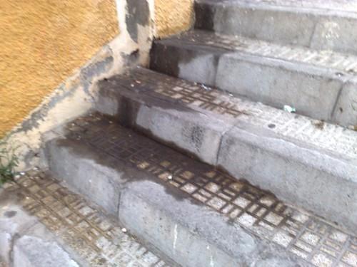 Escalera Hermanos Peñuelas - acceso a la Salle 3