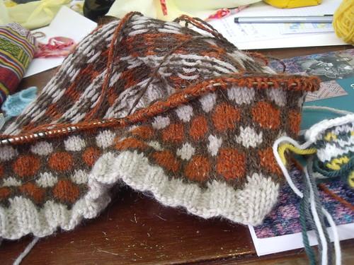 WIP - Outono Cowl