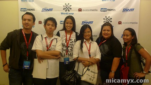 Photo with some of my 'students' :D