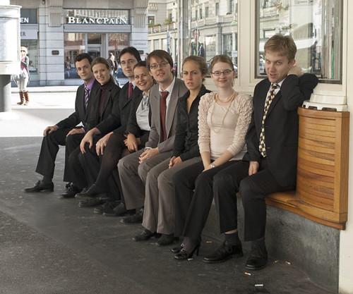 Das Top-Dogs-Ensemble am Paradeplatz