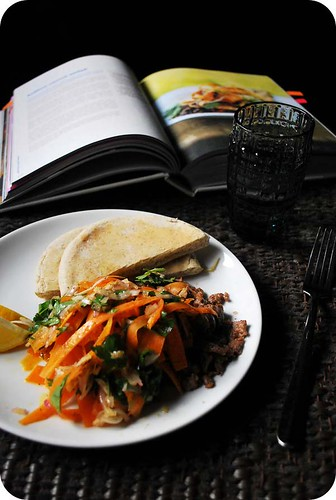 Middle Eastern Carrot & Lamb Salad