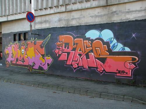 Ruten legal graffiti wall, Sandnes