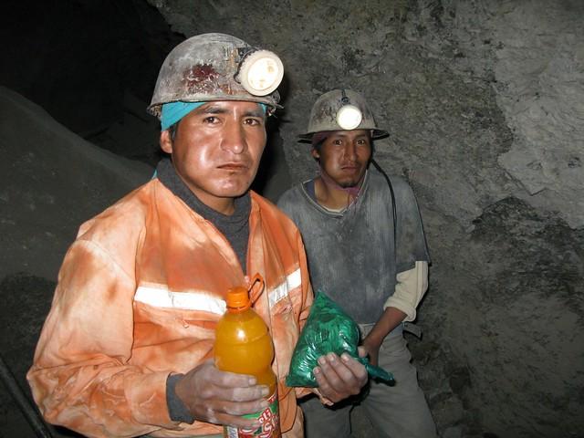 Gruvearbeidere i Cerro Rico