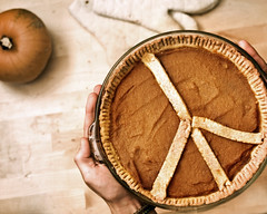Have A 'Peace' of Pie (Boy_Wonder) Tags: thanksgiving pie hands peace joel pumpkinpie 365 101010 peacefulfood