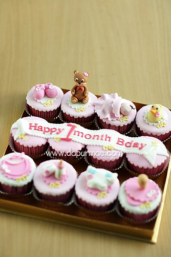 Baby One Month Cupcake Set - Galuh Shinta