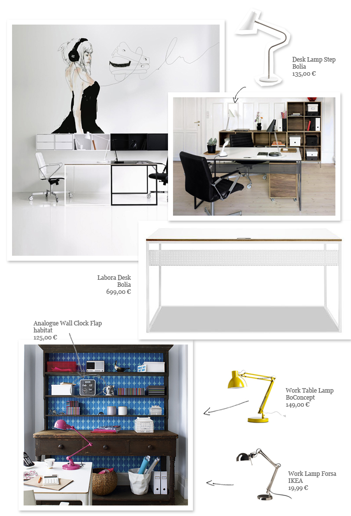 Home Office Inspirations and Ideas