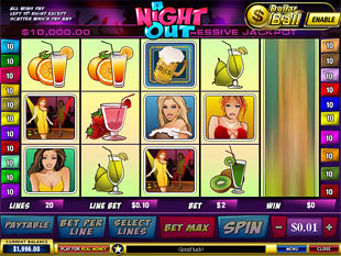 A Night Out slot game online review