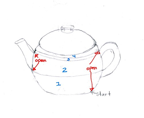 drawing for teacosy instructions