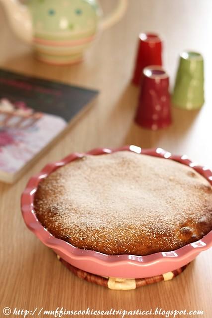 Moelleux con pere e pistacchi