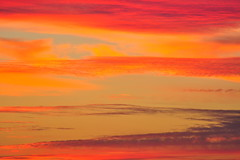 (StephenZacharias) Tags: sunset red orange canada yellow clouds winnipeg manitoba wispy top25 6411 photovotr stephenzacharias