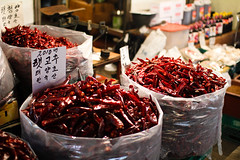 Dried Chillies (stuckinseoul) Tags: world street travel beautiful night canon lens geotagged asian photography photo cool interesting asia forsale image photos quality background gorgeous stock photojournalism sigma korea korean photograph seoul stunning fabulous southkorea 2010 stockphoto photojournalist   corea  30mm  highquality republicofkorea sigma30mmf14exdchsm sincheon     canoneos550d canoneosrebelt2i canoneoskissx4 550d stuckinseoul