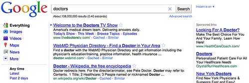 "Google AdWords Changing ""Sponsored Links"" To ""Ads"""