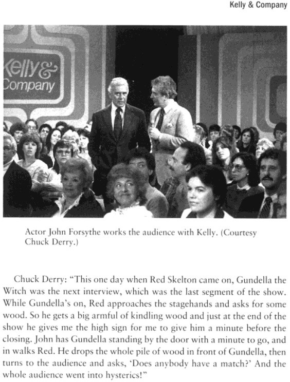 Gundella and Red Skelton story from Kelly & Co