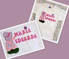 camiseta_maria_eduarda (Patch For Kids) Tags: artesanato sunbonnet patchcolagem applique camisetascustomizadas