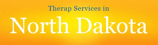 Graphics of Therap Services in North Dakota
