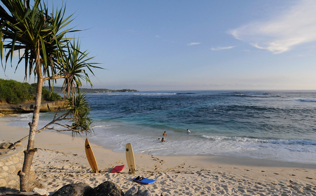 Dream Beach Nusa Lembongan, Surf Spot
