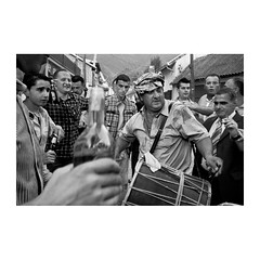 . (Emmanuel Smague) Tags: street leica travel family wedding people blackandwhite bw music men film beer feast 35mm photography europe islam report documentary kosovo mp muslims balkans goran davul roms gorani ethnicgroup emmanuelsmague