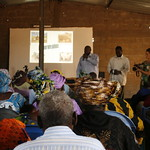 Day three of a citizens' jury in Mali by