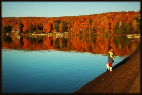 Lac d'automne...