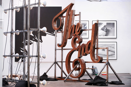 Banks Violette, Not Yet Titled (The End Installation), 2010, Team Gallery by Frieze Art Fair