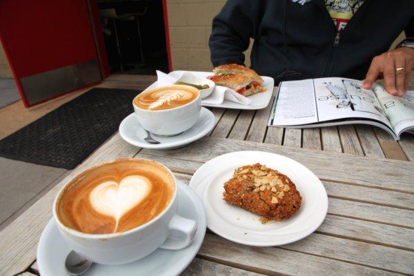 the spread, caffe rosso