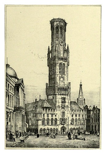 023-Brujas-Sketches by Samuel Prout in France Belgium….1915