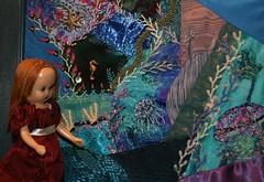 U is for Undersea (Crazyquilter) Tags: ocean sara embroidery crazyquilt nancyannstorybookdoll nasb oneobject365daysproject toytuesdayandthursday