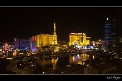 Las Vegas (Eric 5D Mark III) Tags: longexposure light paris color reflection night landscape cityscape lasvegas eiffeltower balloon wideangle strip bellagio planethollywood ballys lasvegasblvd neveda ef1635mmf28liiusm