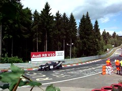 Audi TT at Nürburgring