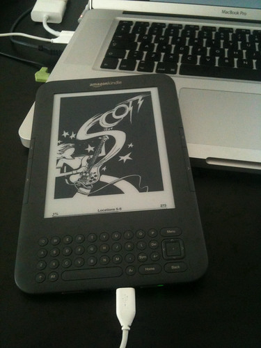 Scott Pilgrim on the Kindle