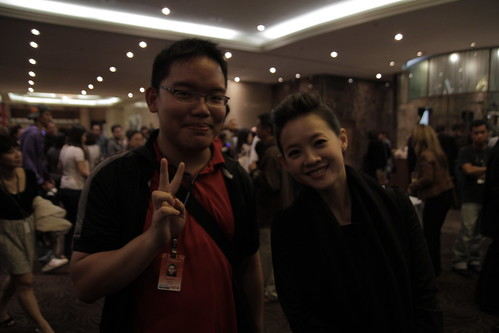 With Taiwanese artiste Bowie Tsang