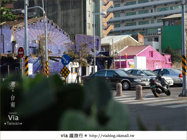 【台南】台南海安路藝術街~必拍的台南景點!22