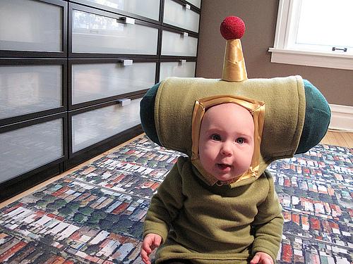 Малыш-джойстик