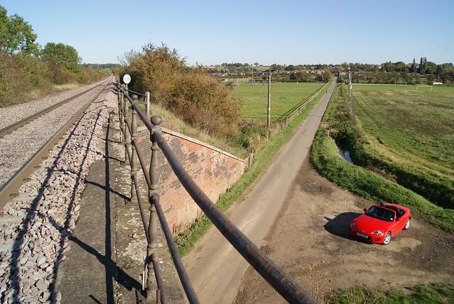 bridge car se nc open railway convertible lincolnshire miata 2010 roadster cabriolet mazdamx5 kirtoninlindsey mk35