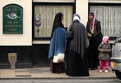 somalian woman (Maja Hill - Artist) Tags: hijab khimar