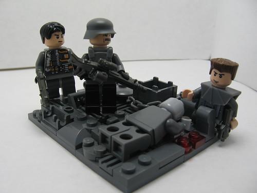 Brickpocalypse! A Proposal to a Zombie 5091068842_a2ff664e0f