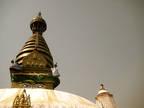Swayambhunath Stupa temple, Kathmandu