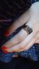 Anel de prata com filete de ouro e trabalhado com pedra (omgbazar) Tags: o moda bolinhas omg infinito colar pulseira loja bazar ouro borboletas anel prata feminino acessórios bijux marfin marcassita