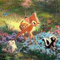 Bambi, Thumper, & Flower