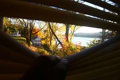 Hudson River (Timm Ziegenthaler) Tags: autumn herbst natur hudson indiansummer farben