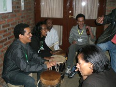 Share Fair Addis participants drumming it away!
