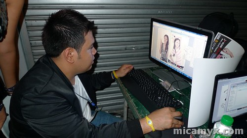Karl Ballesteros at Work