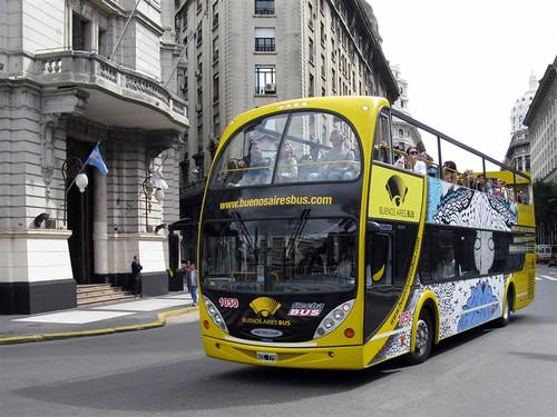 Ônibus Turístico de Buenos Aires.