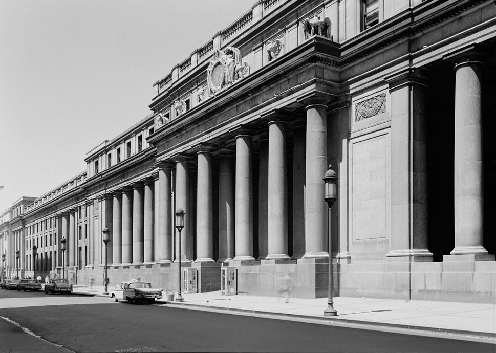 Old Penn Station in the 1960s (Library of Congress)