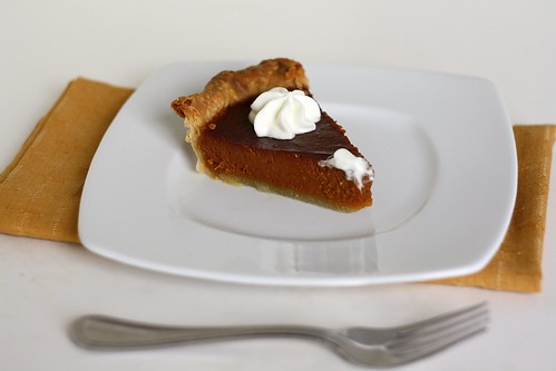 TWD Caramel Pumpkin Pie