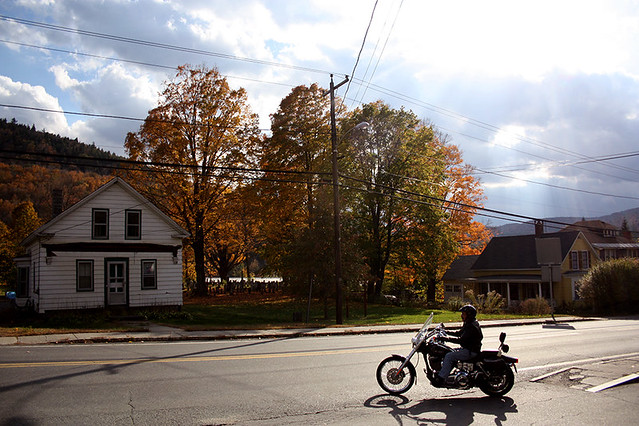 motorcyclist in charlemont, ma