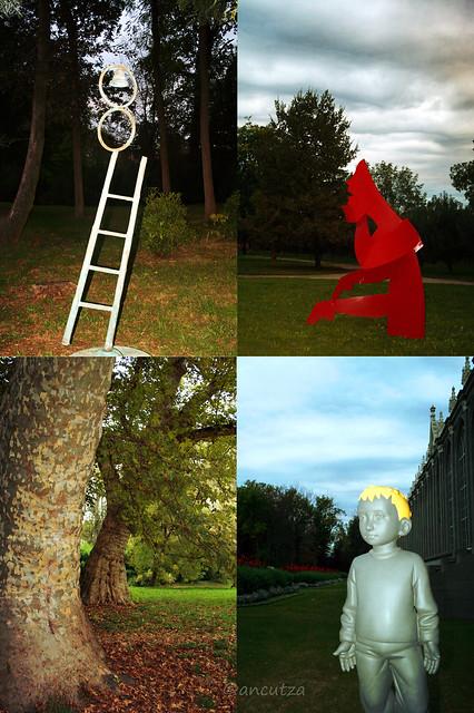 foto della Biennale Internazionale di Scultura 2010 a Racconigi(Cn) in Piemonte
