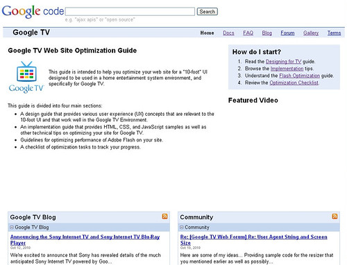 GoogleTV-WebSite-Optimization-Guide
