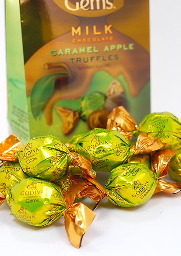 Godiva Gems Caramel Apple Truffles Wrapped