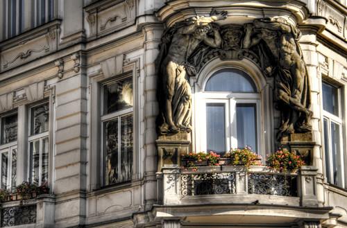 Old town squeare detail. Prague. Detalle de la Plaza de la ciudad vieja. Praga